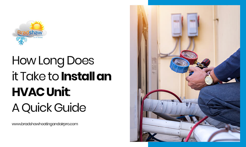 How Long Does it Take to Install an HVAC Unit: A Quick Guide