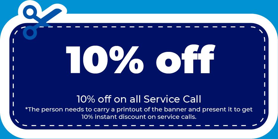 Service Call Discount